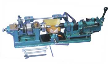 DOUBLE HEAD BRUTING MACHINE
